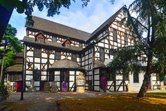 Old baroque timbered church of peace in Swidnica Royalty Free Stock Images