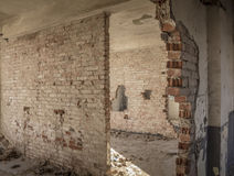 Old barracks Stock Photo