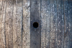 Old barrel. Made of wood used for Italian wine production Royalty Free Stock Photography