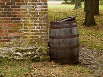 Old Barrel Royalty Free Stock Photos