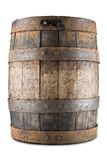 Old barrel isoalted on a white background Stock Image