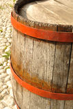 Old barrel. Old italian barrel for wine Royalty Free Stock Images