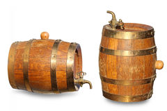 Old barrel for wine Stock Photography