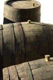 Old barrels Royalty Free Stock Photo
