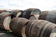 Old barrels Royalty Free Stock Photos