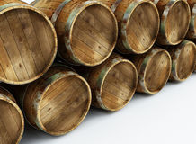 Old barrels Royalty Free Stock Image