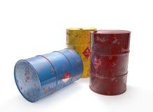 Old barrels Royalty Free Stock Photo