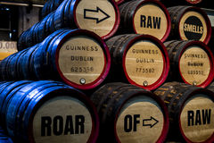 Old Barrels of Beer! Royalty Free Stock Image