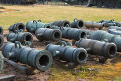 Old barrels Royalty Free Stock Images