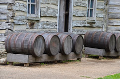 Old barrels Stock Photo