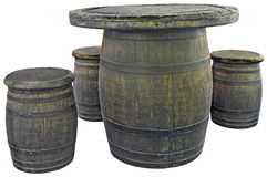 Old barrels Stock Photos