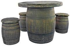 Old barrels Stock Photos
