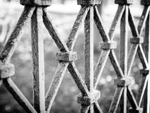 Old barrier Royalty Free Stock Images