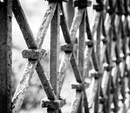 Old barrier Royalty Free Stock Image