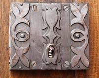 An old barroque door lock Stock Photography