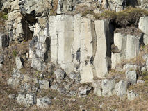 Old Basalt Quarry In The Ore Mountains Stock Photos