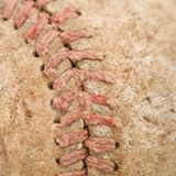 Old baseball. Stock Photos