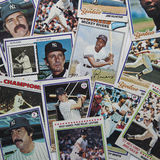 Old Baseball Cards Stock Images