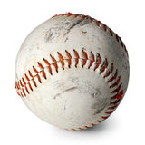 Old baseball isolated Stock Photos