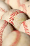 Old Baseball macro 2 Stock Photography