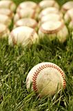 Old Baseballs Royalty Free Stock Photo