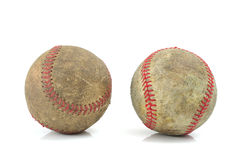Old baseballs Royalty Free Stock Image