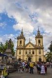 The Old Basilica of Aparecida Stock Image