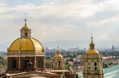 Old Basilica of Guadalupe Royalty Free Stock Photography
