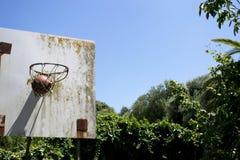Old basket Stock Images