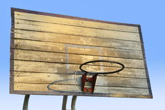 Old Basket Ball Hook Without Net Royalty Free Stock Photos