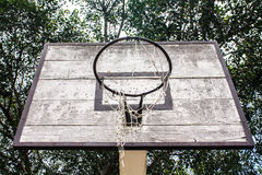 Old basket Royalty Free Stock Photos