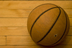 Old Basketball Royalty Free Stock Photography