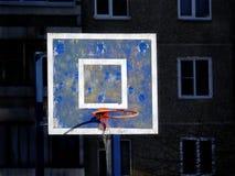 Old basketball backboard Stock Photos
