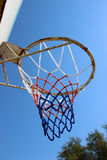 An old basketball backboard Royalty Free Stock Image
