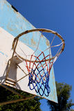 An old basketball backboard Royalty Free Stock Images