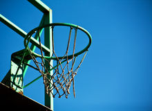 Old basketball basket Stock Photos