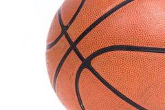 Old basketball basket ball isolate Royalty Free Stock Photos