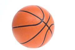 Old basketball basket ball isolate Stock Photography
