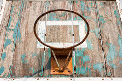 Old basketball board Stock Photography