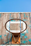 Old basketball board Royalty Free Stock Photo