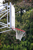 Old Basketball Hoop Stock Photo