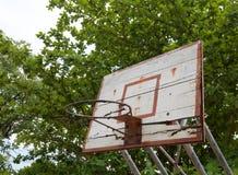 Old basketball hoop Stock Photography