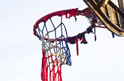 The old basketball Stock Photography