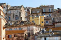 Old Bastia architecture Stock Images