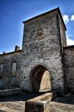 The old bastide of Monpazier, Dordogne, France Stock Photography