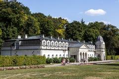 Old Bath-House in Naleczow, Poland Stock Photos