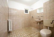 Old bathroom royalty free stock photos