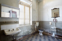 Old bathroom Royalty Free Stock Images