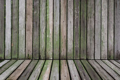 Old battens texture for background. And place products Royalty Free Stock Images