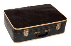 Old battered black case Royalty Free Stock Images